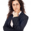 Worried business woman — Stock Photo #5880677