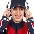Stock Photo: Disc jockey