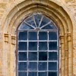 Antique window — Stock Photo