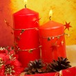 Candles of Christmas — Stock Photo #5881711
