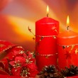 Candles of Christmas — Stock Photo #5881712