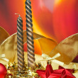 Candles of Christmas — 图库照片