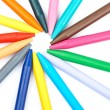 Colored wax crayons — Stock Photo #5882091