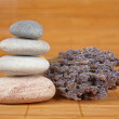 Balanced stones - Stock Photo