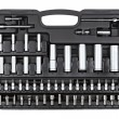Socket wrench set - Stock Photo