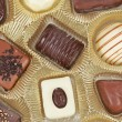 Chocolate candies background — Stock Photo #5882262