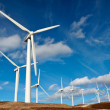 Wind turbines farm — Stockfoto #5882600