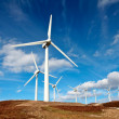 Wind turbines farm — Stock Photo #5882601