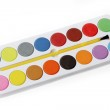 Box of Watercolors Picture — Stock Photo