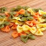 Uncooked pasta — Stock Photo