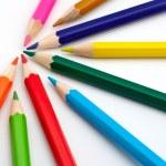Colored school pencils — Stock Photo #5882736