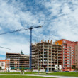 Building construction - Foto Stock