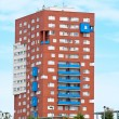 Block of flats — Stockfoto