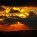 Sunset of spring season — Stock Photo #5882929