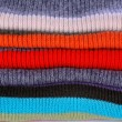 Several colors pullovers stack - Stock Photo