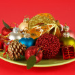 Salad of Christmas — Stock Photo