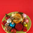 Salad of Christmas — Stock Photo #5883200