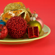 Salad of Christmas — Stock Photo #5883201