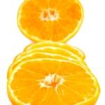 Oranges slices — Stock Photo