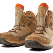 Hiking boots — Stockfoto