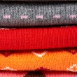 Royalty-Free Stock Photo: Several colors clothes stack