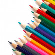 Assortment of coloured pencils — Stock Photo #5883371