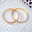 Wedding rings — Stock Photo #5883389
