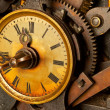 Antique grunge clock — Stockfoto #5883426