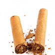 Broken cuban cigar — Stock Photo #5883478