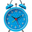 Blue alarm clock — Stock Photo #5883724