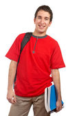 Young smiling student — Stock Photo