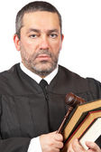 Serious male judge — Stock Photo