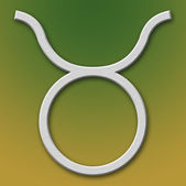 Taurus Aluminum Symbol — Stock Photo