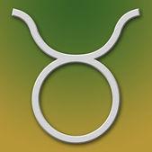 Taurus Aluminum Symbol — Stock Photo