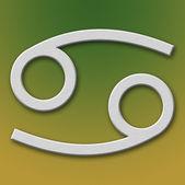 Cancer Aluminum Symbol — Stock Photo