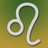 Leo Aluminum Symbol — Stock Photo