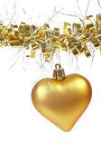 Vánoční srdce — Stock fotografie