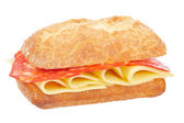 Delicious sandwich — Stock Photo