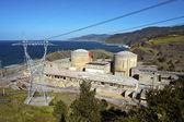 废弃的核发电站 — 图库照片