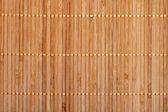 Bamboe mat — Stockfoto