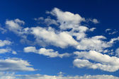 Cloud background — Stock Photo