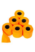 Some rolls of toilet paper — Foto de Stock
