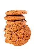 Pila di biscotti al cioccolato — Foto Stock
