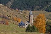 Montgarri、バジェ ・ デ ・ アラン、スペインの聖域 — ストック写真