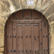 Antique wooden door — Stock Photo #6339102