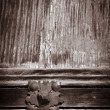 Antique wooden door — Stock Photo #6339113