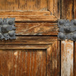 Antique wooden door — Stock Photo #6339116