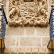 Stock Photo: Carved stone coat of arms
