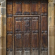 Antique wooden door — Stock Photo #6339161