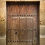 Antique wooden door — Stock Photo #6339167